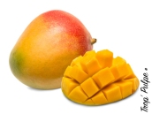 Mango isolated on white background